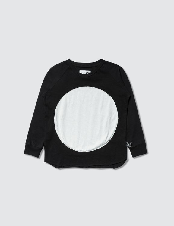 NUNUNU Circle Patch L/S T-Shirt