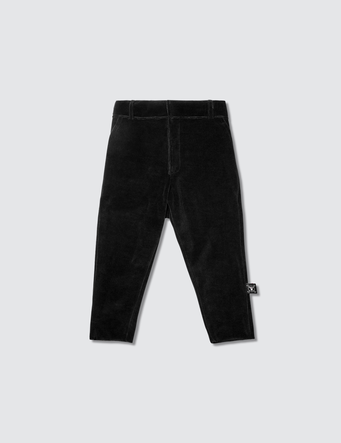NUNUNU Velvet Tailored Pants