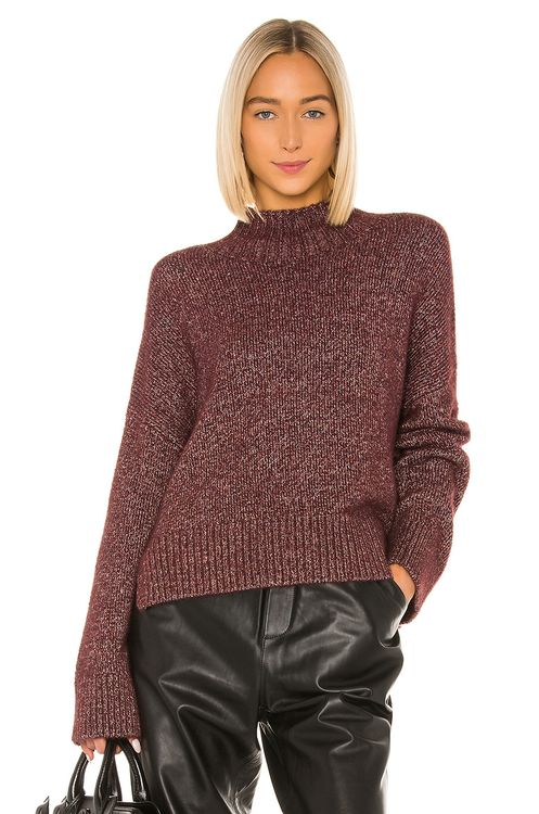 1. STATE Marled Turtleneck Sweater