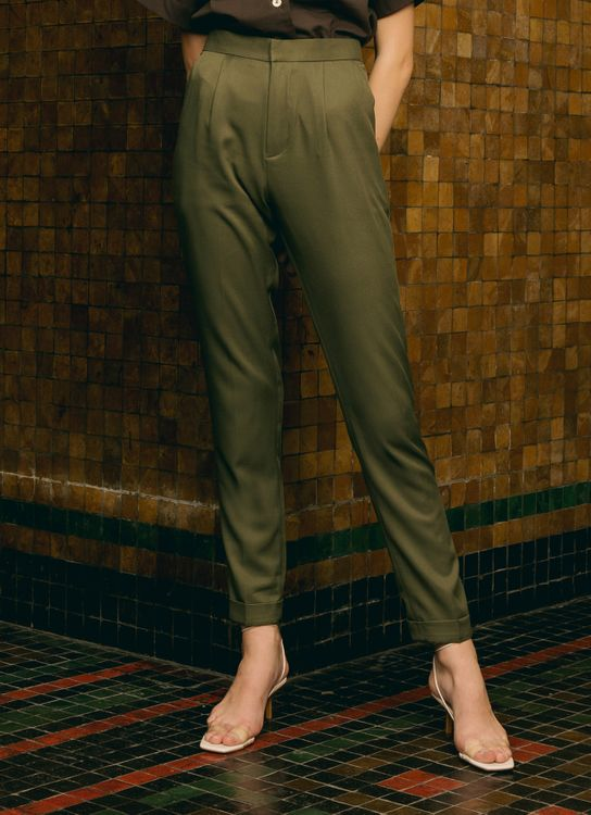 ATS THE LABEL Character Seaweed Pants