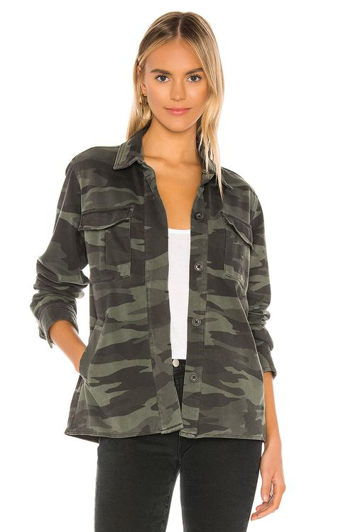 Splendid Cargo Shirt Jacket
