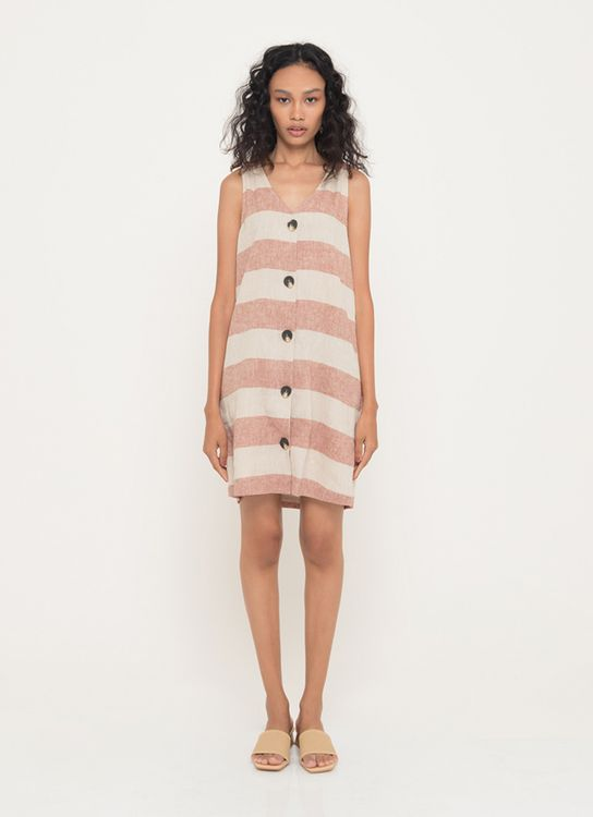 3Mongkis Dena Dress - Pink