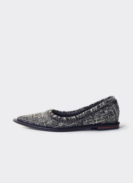 Christin Wu Iris Flats - Tweed