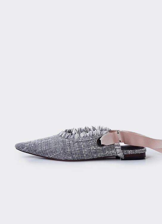 Christin Wu Irma Flats - Tweed