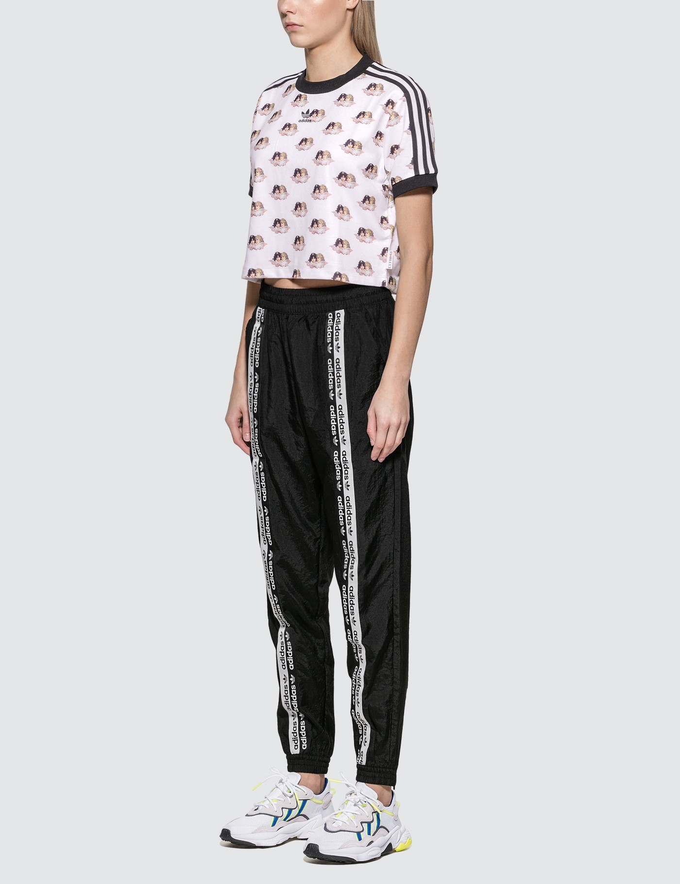 Adidas Originals x Fiorucci Crop T-shirt