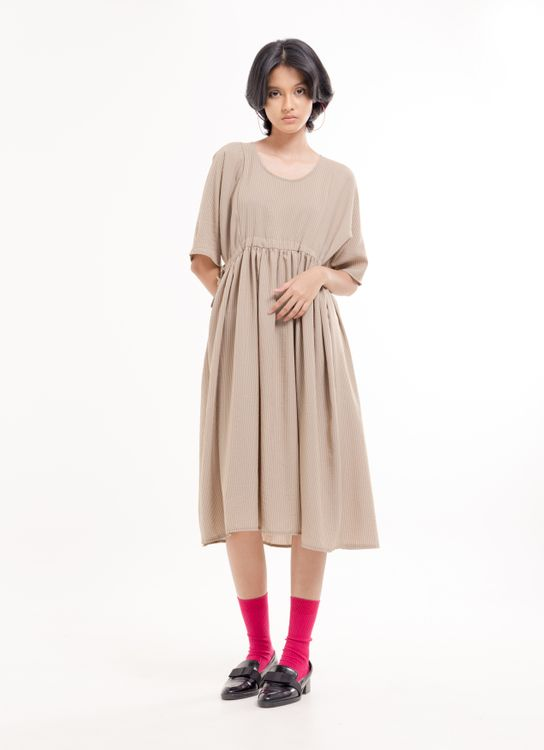 BOWN Arbel Dress - Beige