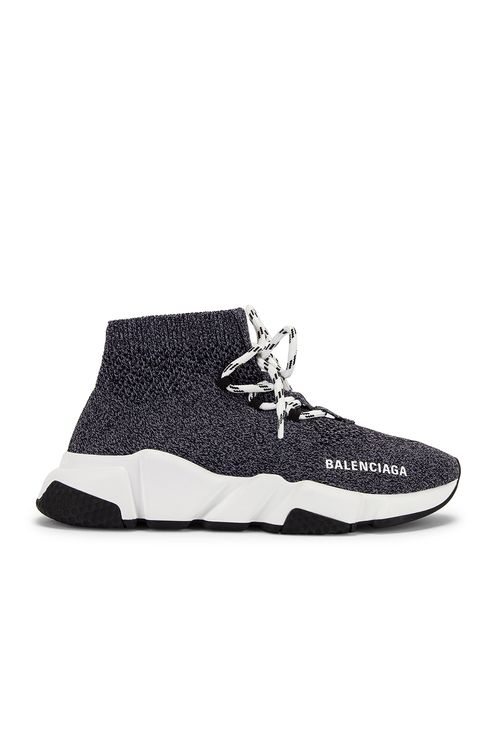 BALENCIAGA Speed Lace Up Knit Sneakers