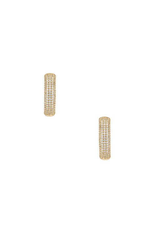 The M Jewelers NY The Iced Ravello Hoop Earrings