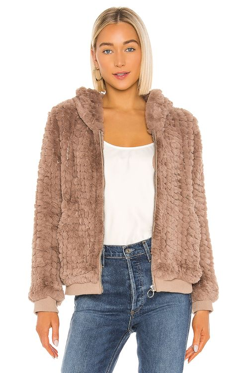 HEARTLOOM Peri Faux Fur Jacket