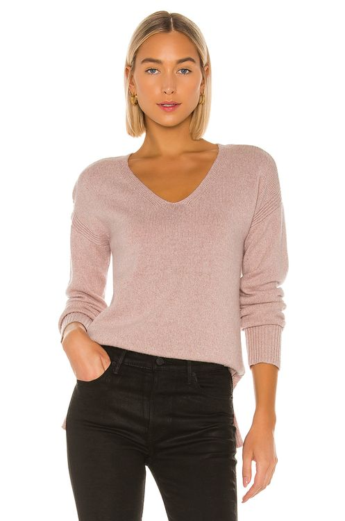 SWTR Twisted V Neck Sweater