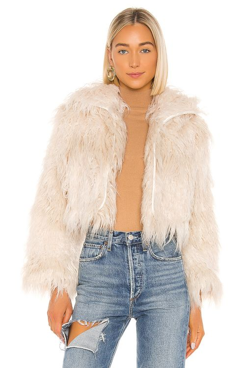 One Teaspoon Axel Faux Fur Jacket
