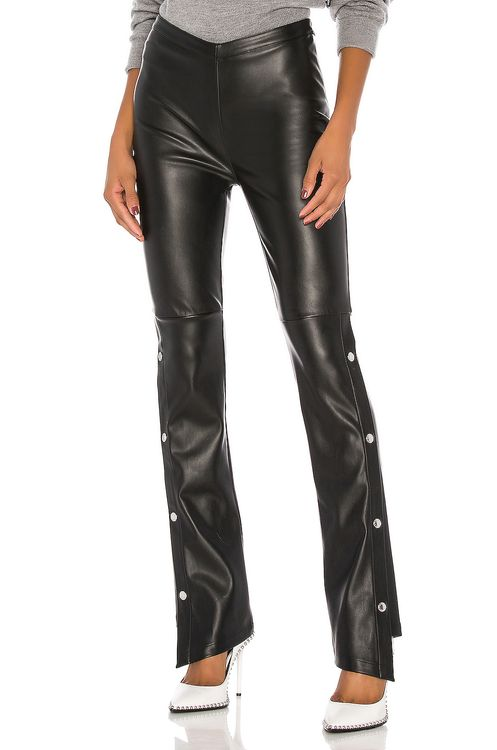 T by Alexander Wang Stretch Washable Faux Leather Pants