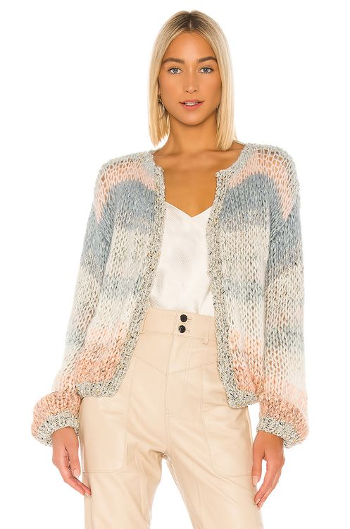 Maiami Ombre Cropped Cardigan