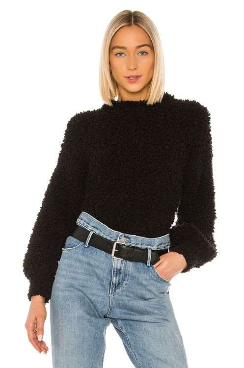 1. STATE Poodle Texture Sweater