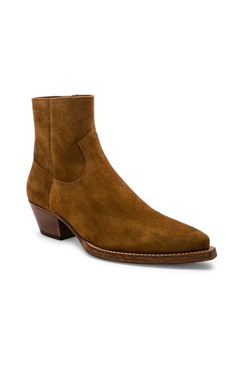 Saint Laurent Lukas 40 Zip Boot