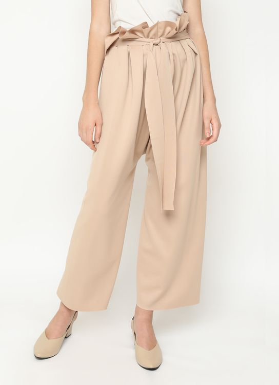 Basic by Komma 02.072 - Pants - Nude