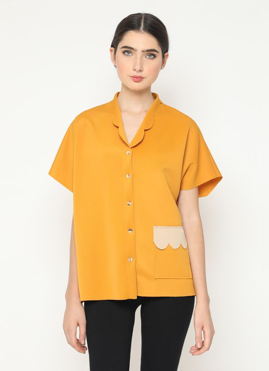 Basic by Komma 02.074 - Top - Yellow