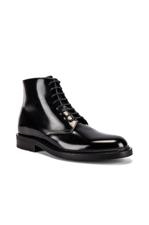 Saint Laurent Army Lace Up Boots