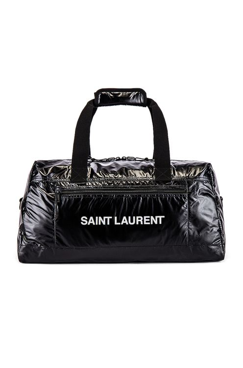 Saint Laurent Nylon Ripstop Duffel Bag