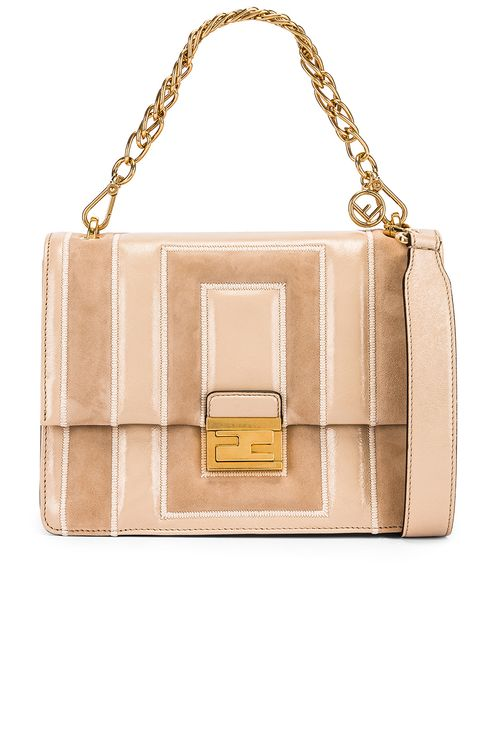 Fendi Embossed Kan U Bag