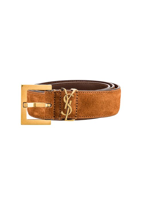 Saint Laurent Light Suede Belt