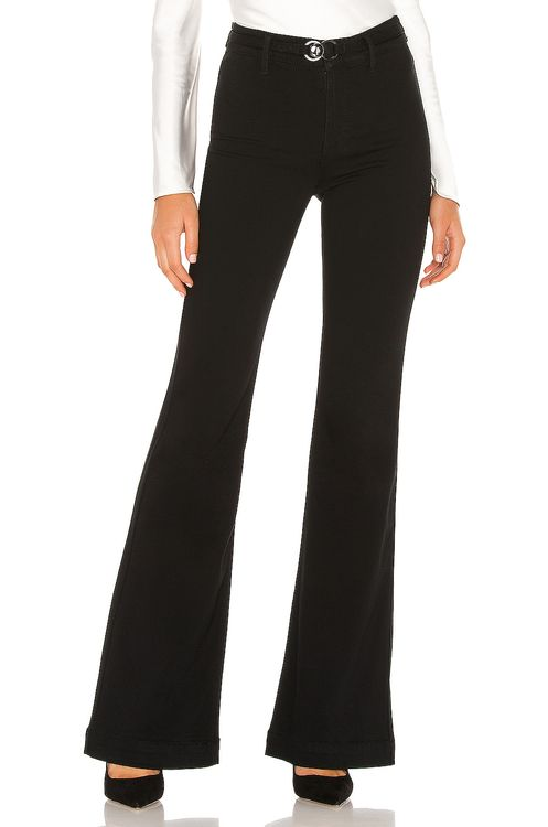 PAIGE Clean Front Genevieve with Buckle Detail
