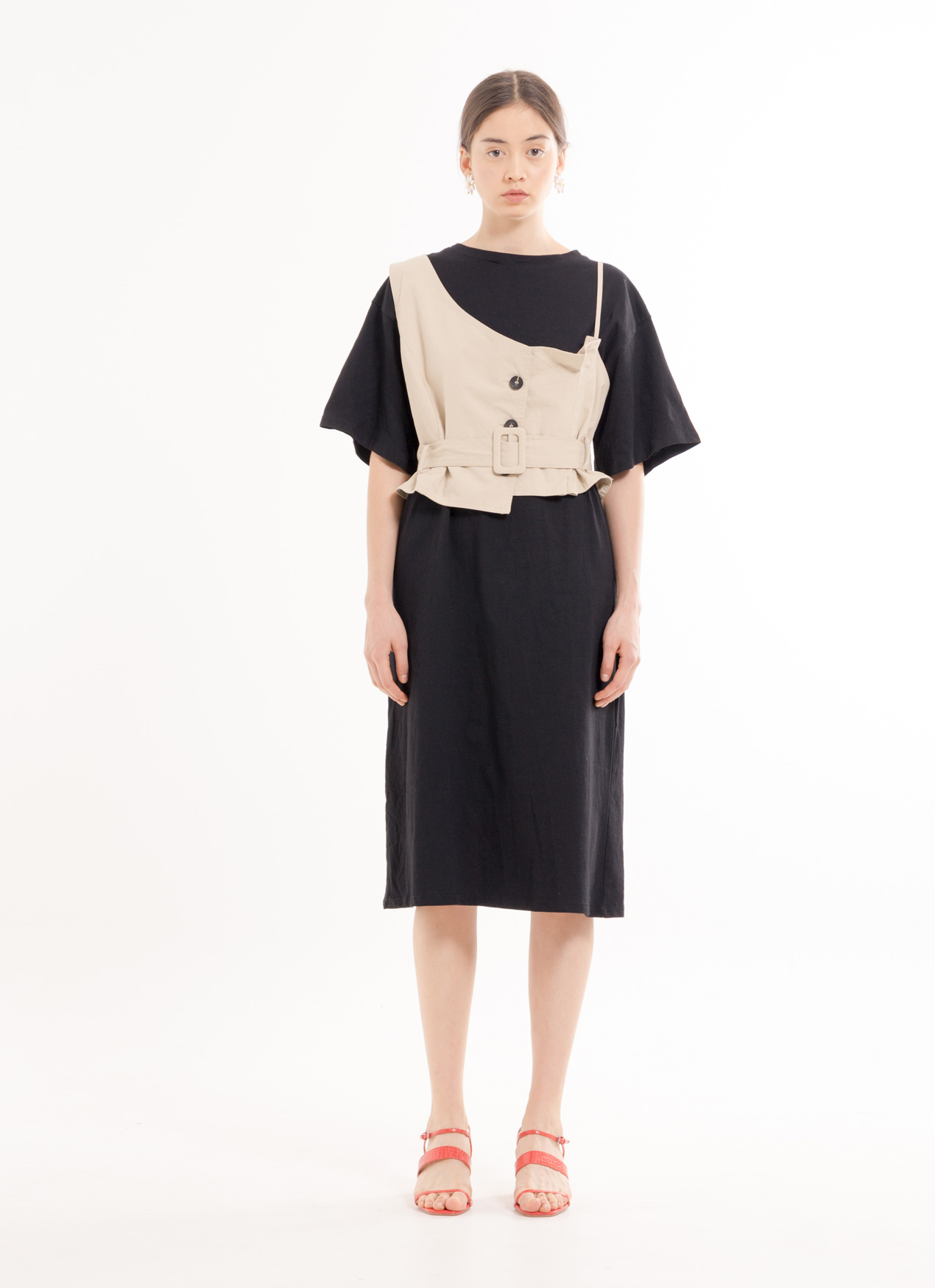 BOWN Akemi Dress - Black