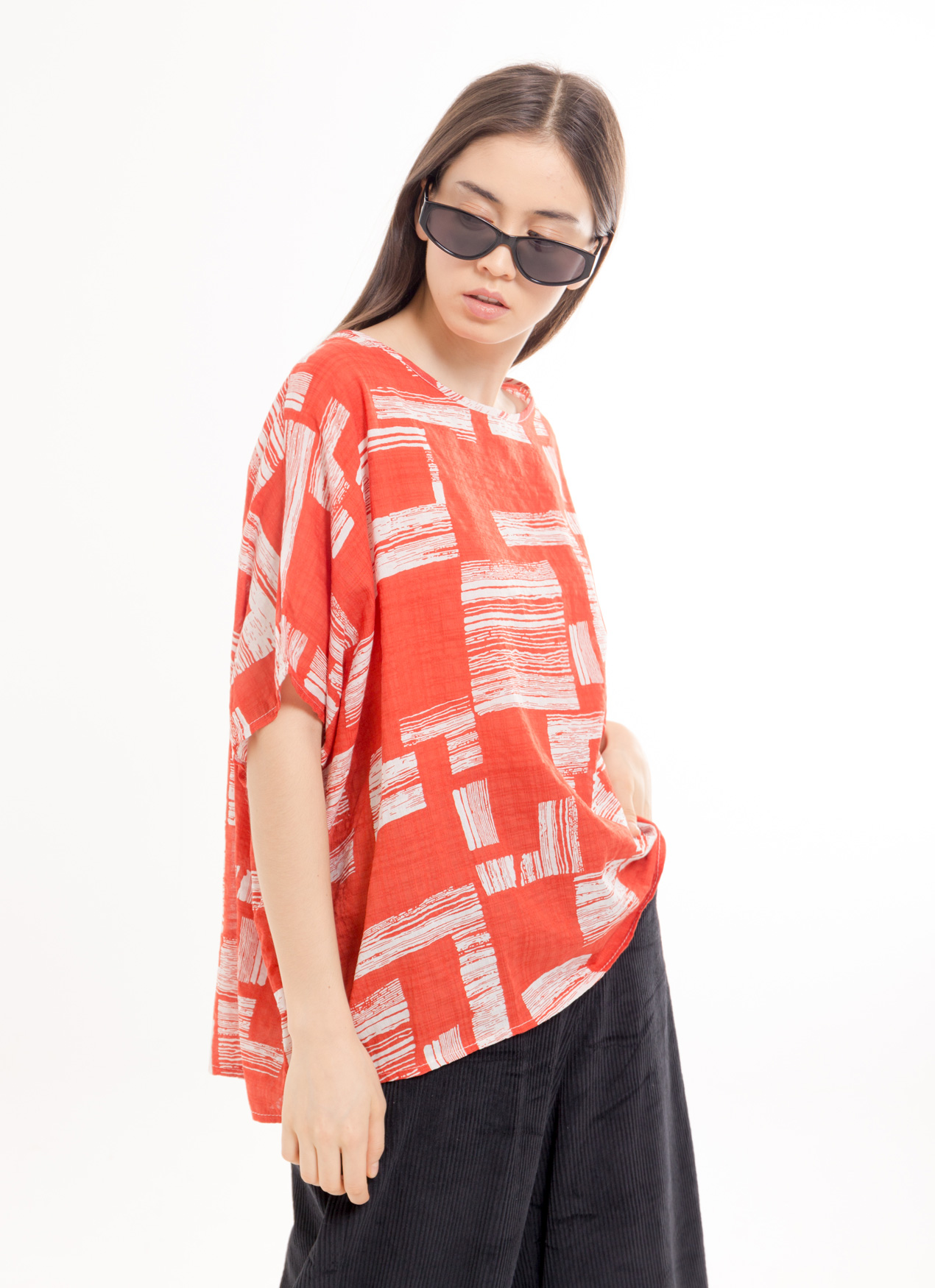 BOWN Shanice Top - Red