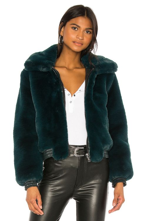David Lerner Maverick Faux Fur Jacket