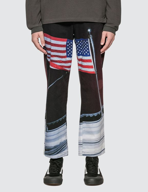 thisisneverthat American Flag Work Pants