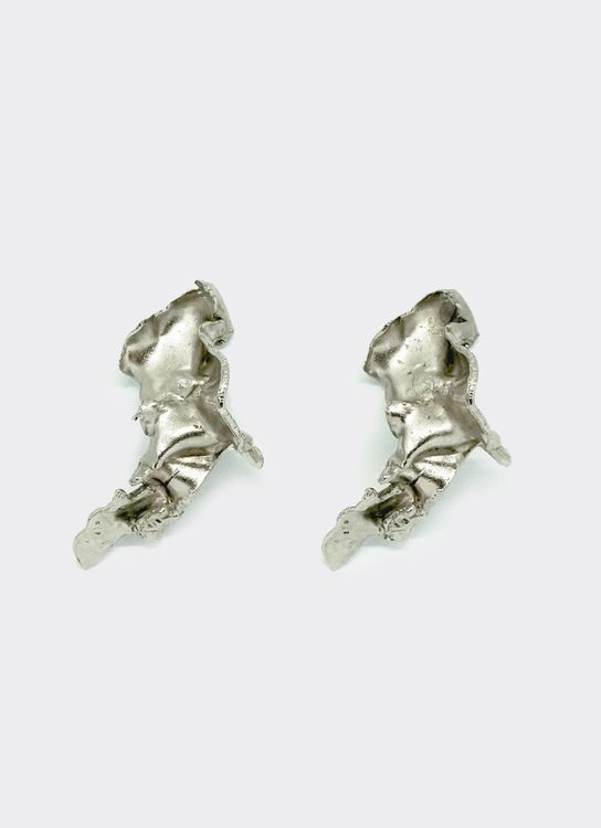 Ruang Jiwa Senja Silver Earrings