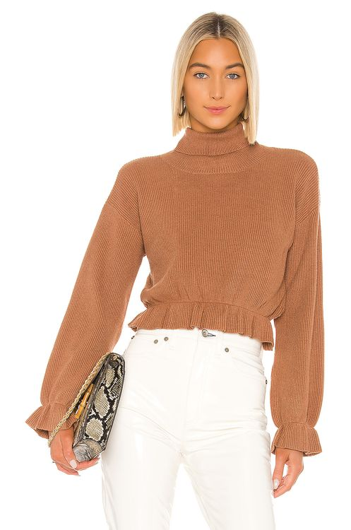 MINKPINK All My Friends Frill Jumper