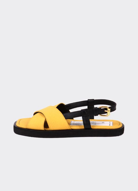 Mader Canvas Square Toe  Yellow