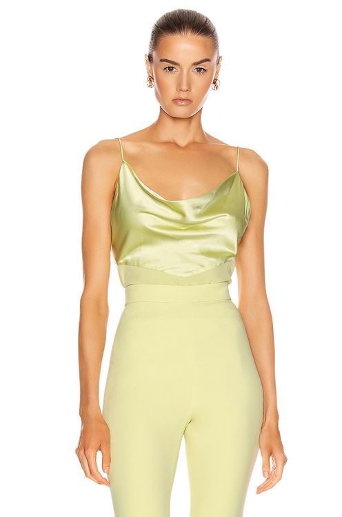 Cushnie Fitted Tank Top