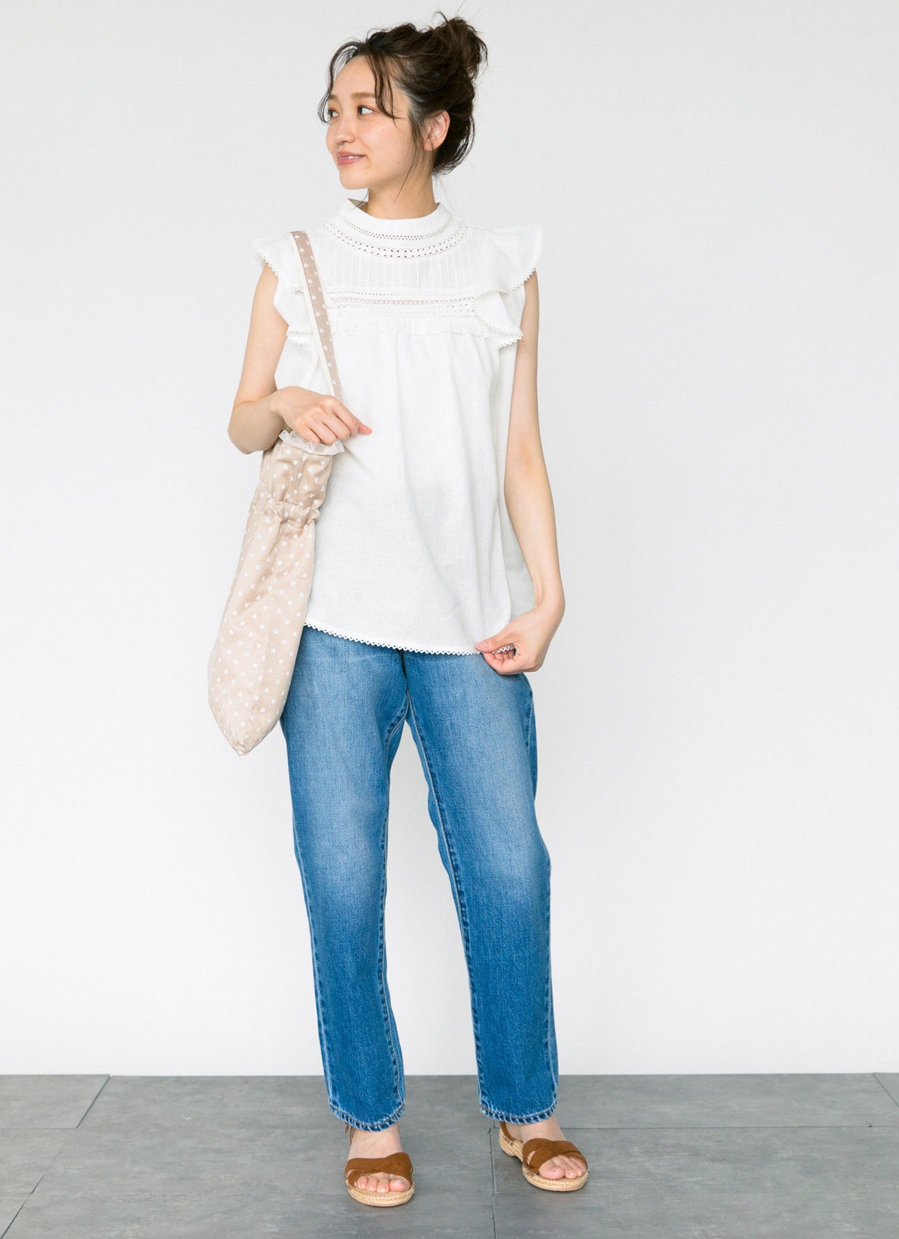 Earth, Music & Ecology Coura Top - Off White