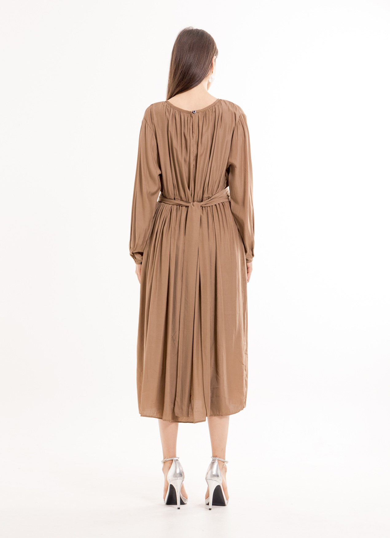 BOWN Libby Dress - Brown