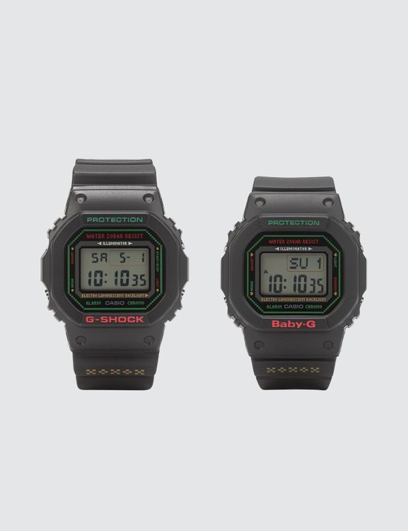 G-Shock LOV-19B-1 Christmas Lover's collection DW-5600LG-1 & BGD-560LG-1