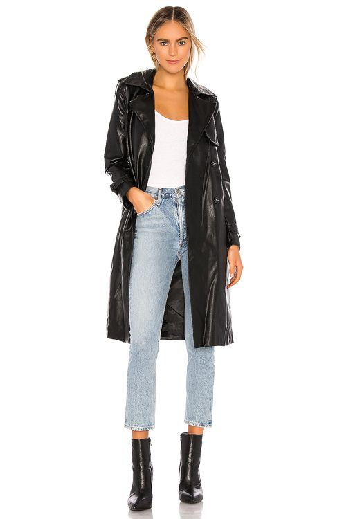 Apparis Lucia Vegan Leather Trench
