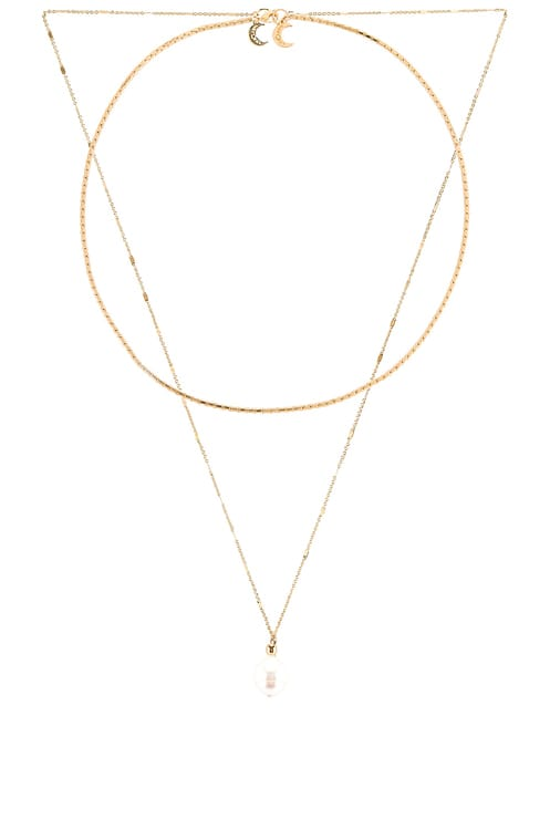 Lili Claspe Leela Chain Necklace Set
