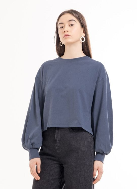 Earth, Music & Ecology Alison Top - Gray