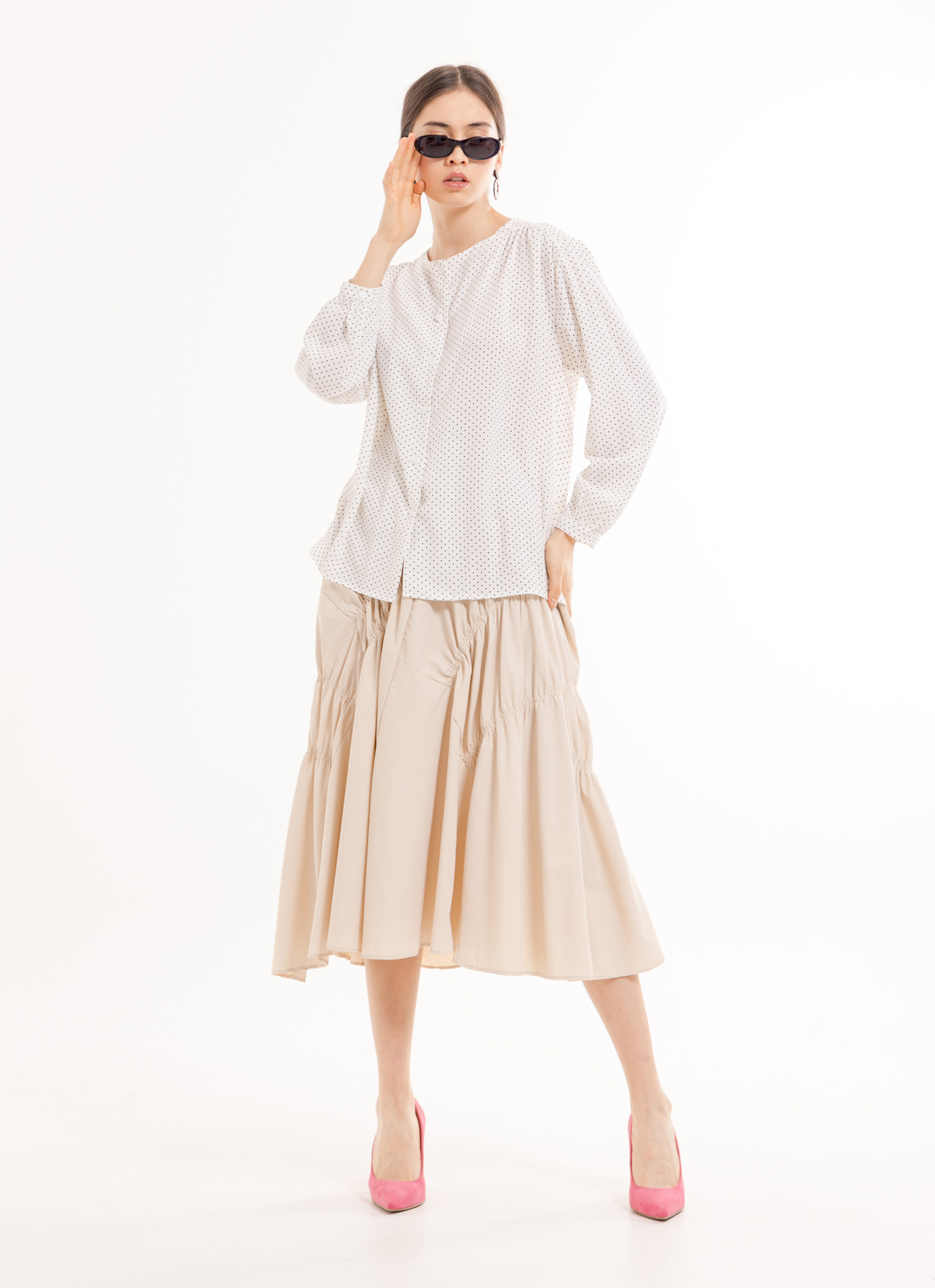 BOWN Cleophee Top - White