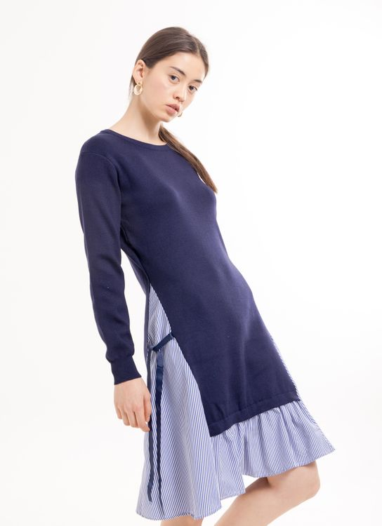 BOWN Felicitae Dress - Blue