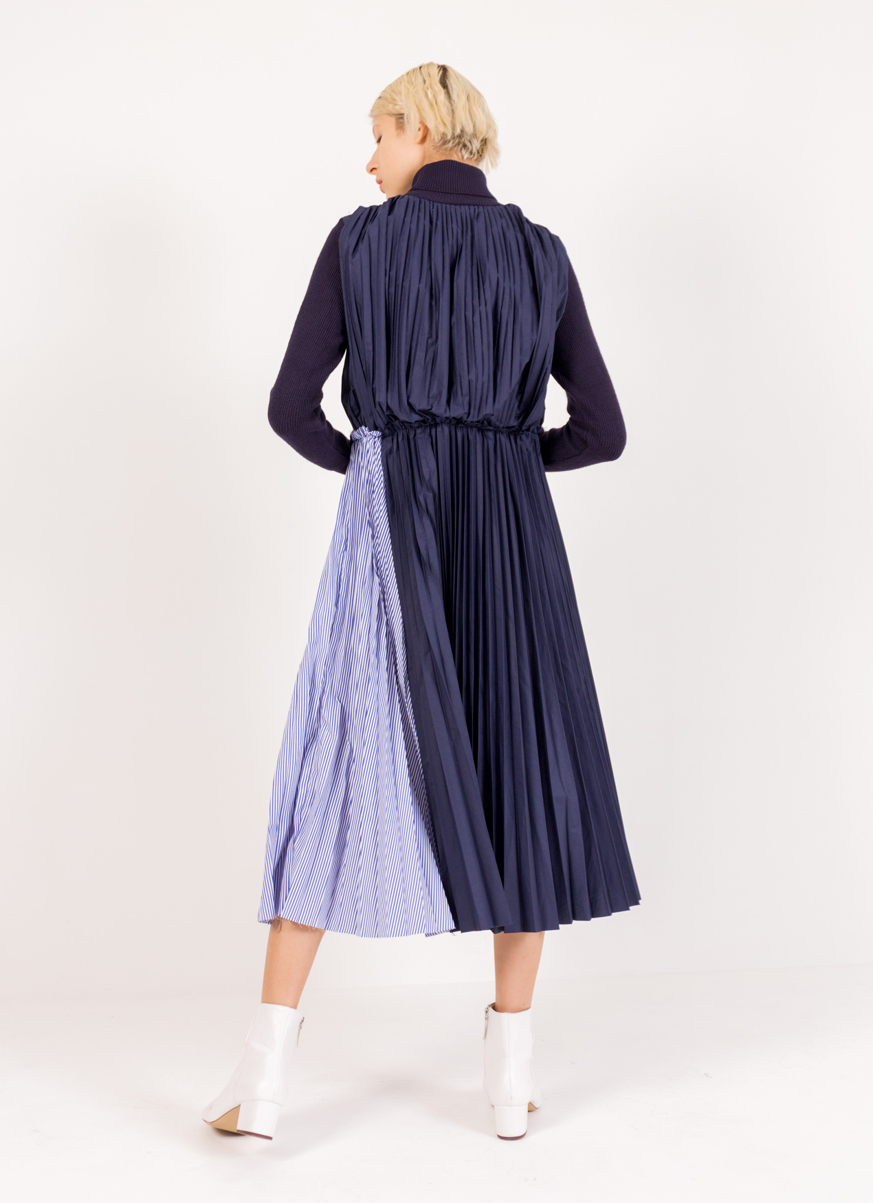 BOWN Meredith Dress - Blue