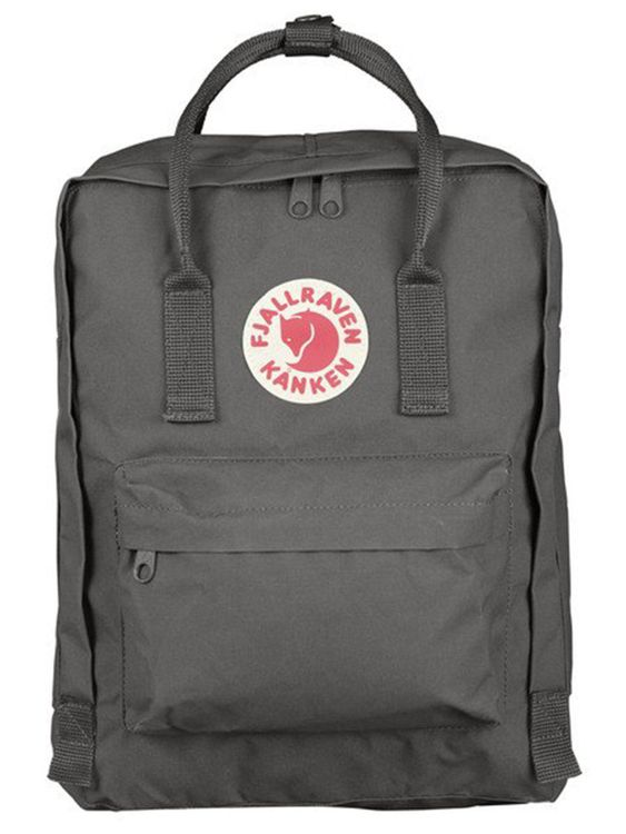 FJALLRAVEN Fjallraven Kanken Classic Backpack Super Grey