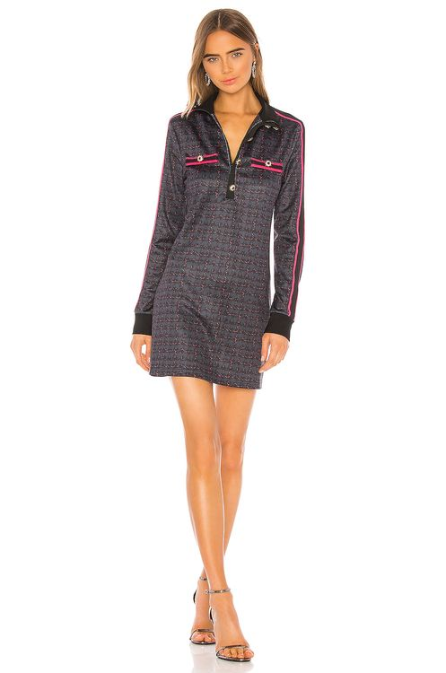 Pam & Gela Tweed Mini Dress