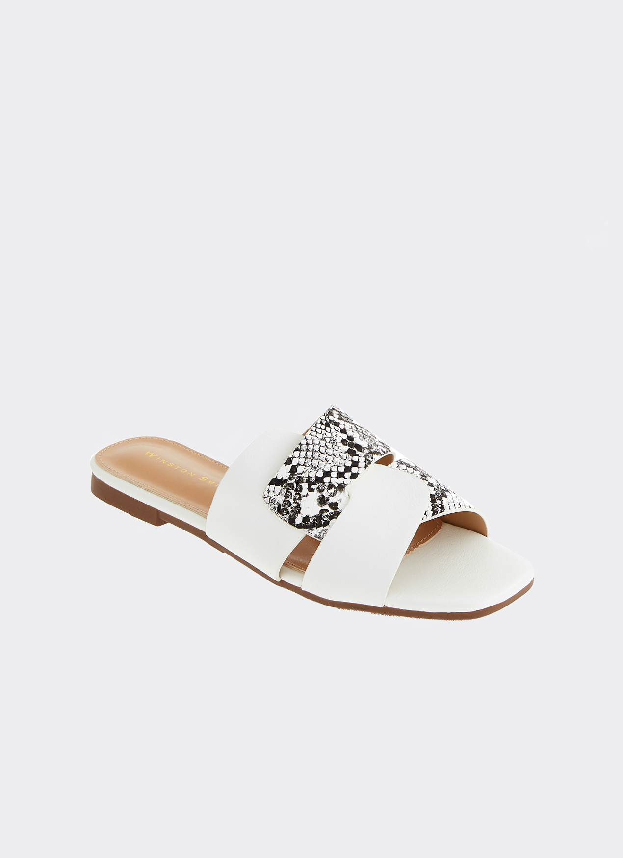 Winston Smith May Sandals White