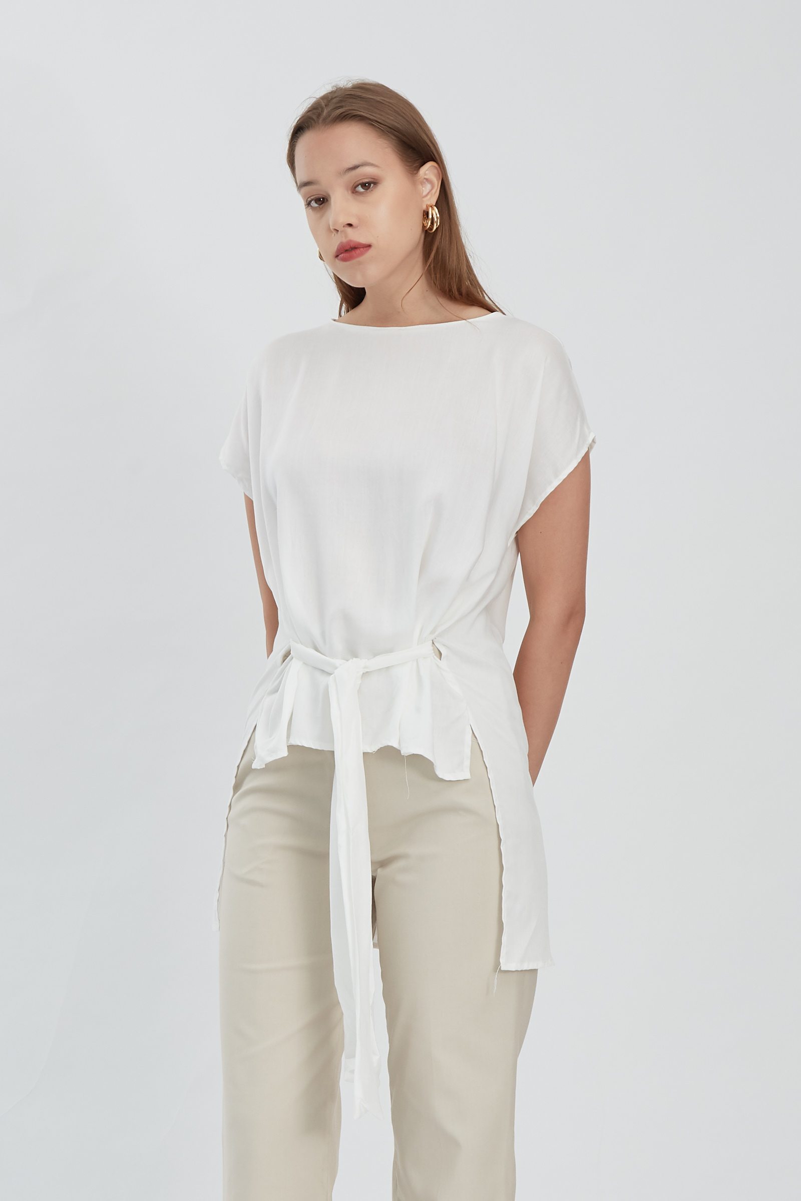 Shopatvelvet Kara Top White