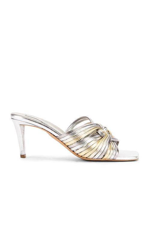 Stella McCartney Metallic Mules