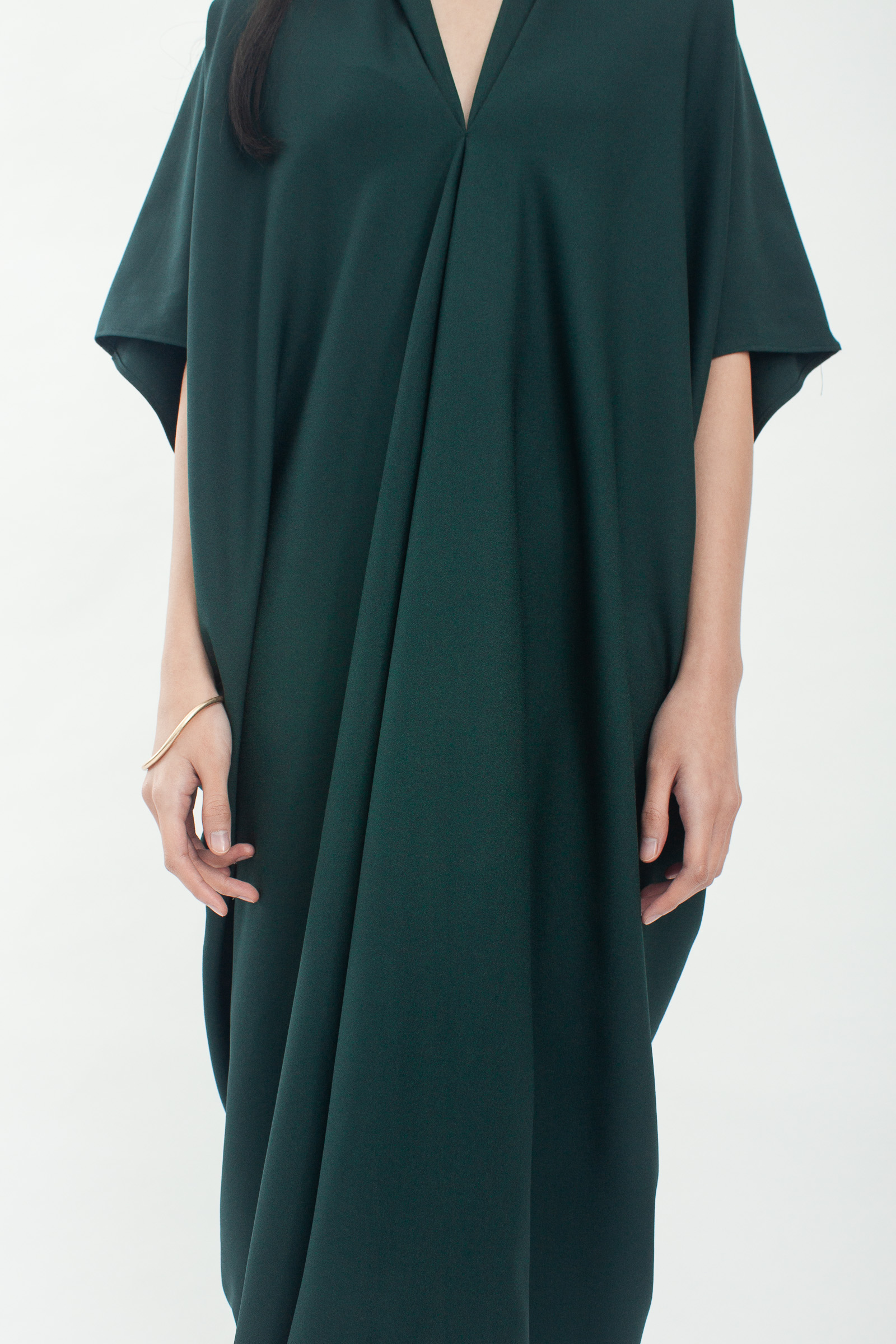 Shopatvelvet Noah Dress Green