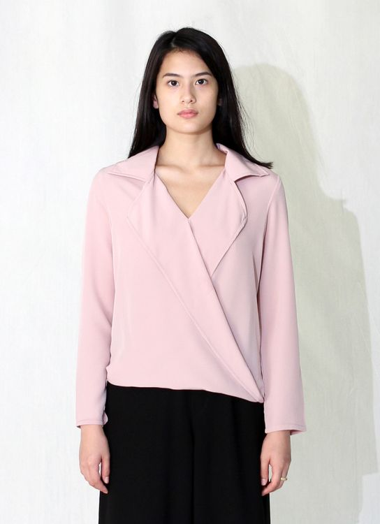 Wastu Nemesis Top - Dusty Pink